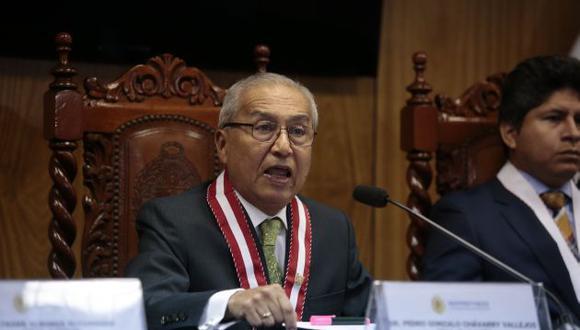 Pedro Chávarry, ex fiscal de la Nación, tiene impedimento de salida del país.