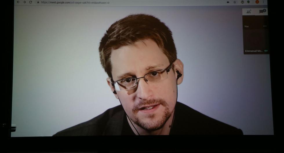 Edward Snowden, ex analista de la Agencia de Seguridad Nacional (NSA) de Estados Unidos. (AFP).