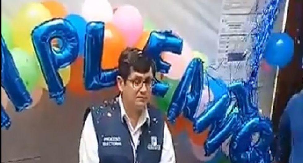 Walter Huiza fue retirado de la ODPE Trujillo.