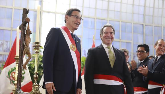Francisco Petrozzi fue ministro de Cultura y renunció al cargo el 4 de diciembre de 2019. (Foto: Presidencia Perú)