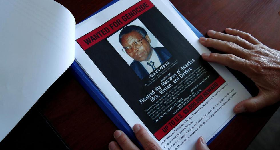 Félicien Kabuga, de 87 años, está acusado de haber participado en la creación del principal brazo armado del genocidio de 1994 que, según la ONU, dejó 800.000 muertos, principalmente entre la minoría tutsi. (Foto: Benoit Tessier / Reuters)