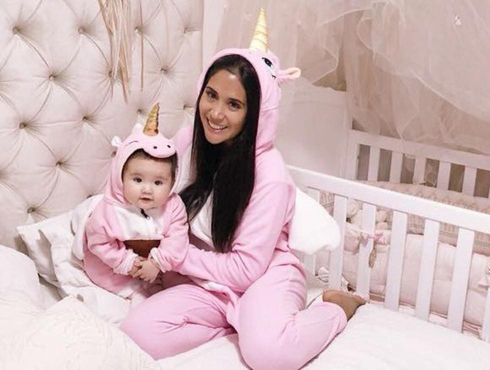 La modelo celebrará su primer 'Día de la Madre' con su pequeña Mía. (Créditos: Facebook de Melissa)