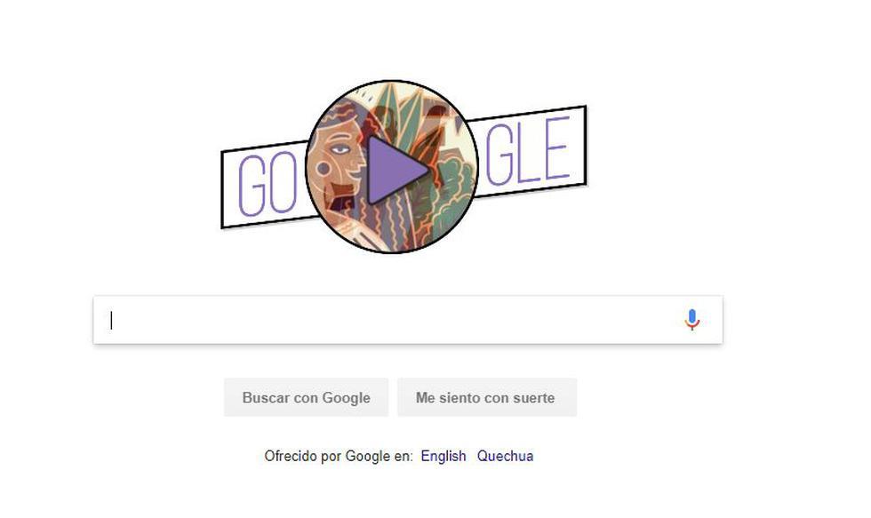 Día de la Mujer: Google lanza 'doodle' que narra 12 historias sobre mujeres