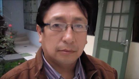 Igor García se desempeñaba como asesor técnico del despacho del congresista