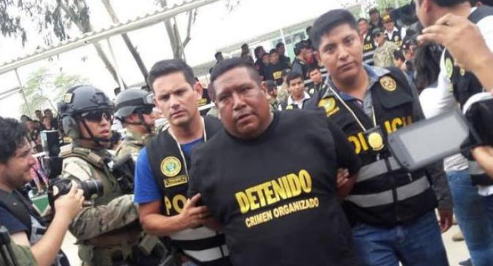 'Gordo Calero', cabecilla de la red criminal, está implicado en dos asesinatos y tres tentativas de homicidio. (Johnny Obregón)