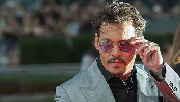 Jhonny Depp no descarta alejarse de la pantalla grande. (AFP)