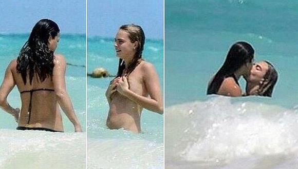 Protagonizaron apasionadas escenas en el mar. (The Sun)