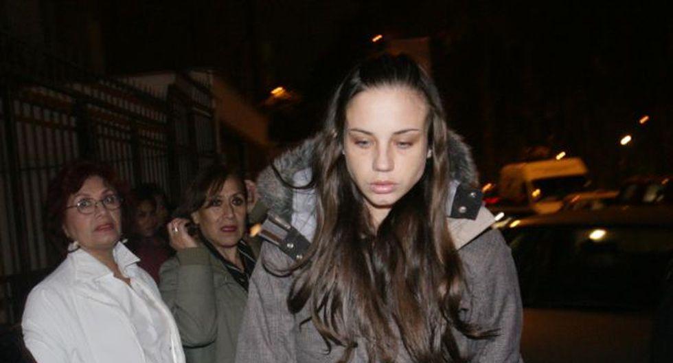 Caroline Visser estuvo recluida en un penal por estar vinculada al 'Tío Charlie'. (José Rojas/Trome)