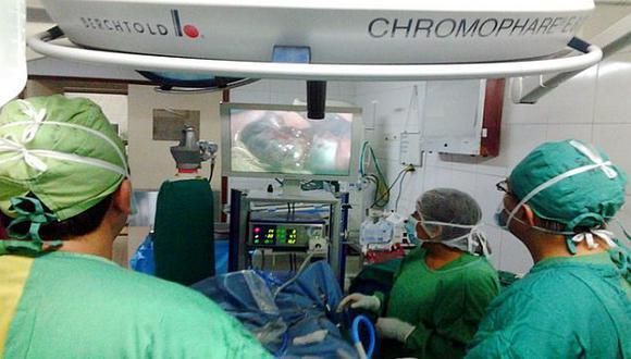 Especialistas de Essalud salvan ojos de bebé con cáncer en retinas. (Difusión)