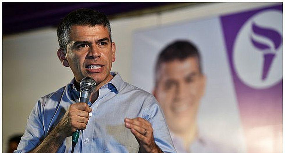 """Julio Guzmán:  """"No vamos a olvidar el daño que el fujimorismo le ha hecho al Perú"""". (Foto: GEC)"""