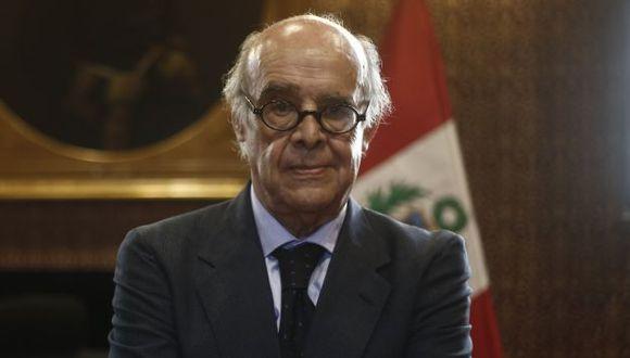 El canciller Ricardo Luna adelantó los lineamientos del trabajo de nuestro país. (RenzoSalazar/Perú21)