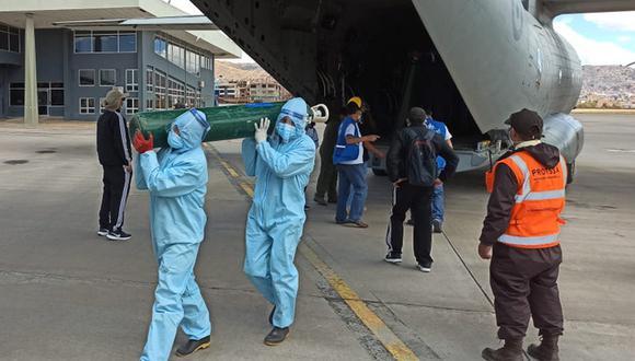 Cusco: la ayuda fue enviada desde la sede central de EsSalud en Lima.