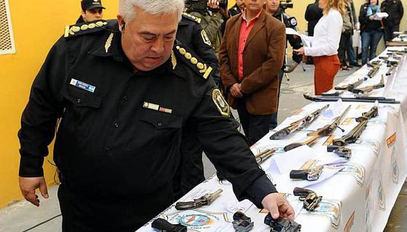Se decomisaron armas de todo calibre. (Tn.com.ar)