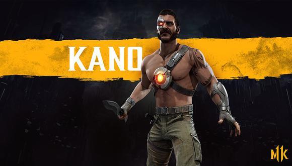 Se confirmo la presencia de Kano para 'Mortal Kombat 11', el cual llegará el próximo 23 de abril en PS4, Xbox One, Switch y PC.