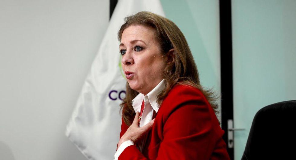 María Isabel León, presidenta de la Confiep.
