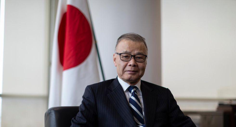 Conversamos con Sadayuki Tsuchiya, embajador del Japón. (Perú21/ Renzo Salazar)
