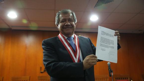 El juez supremo Ángel Romero es implicado en la declaración de Willy Serrato. (GEC)