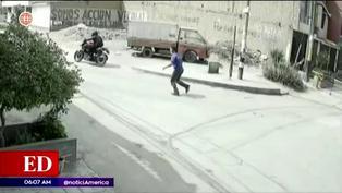 Cámaras de seguridad captan robos al paso en el distrito de Carabayllo