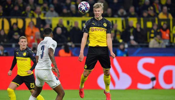 PSG vs. Borussia Dortmund se enfrentan en los octavos de final de la Champions League. (Foto: AFP)