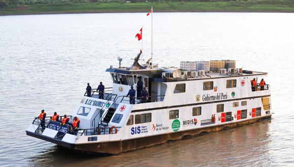 Loreto: Por primera vez buque llegará a 14 comunidades nativas para atenderlos en salud (Foto: Midis)