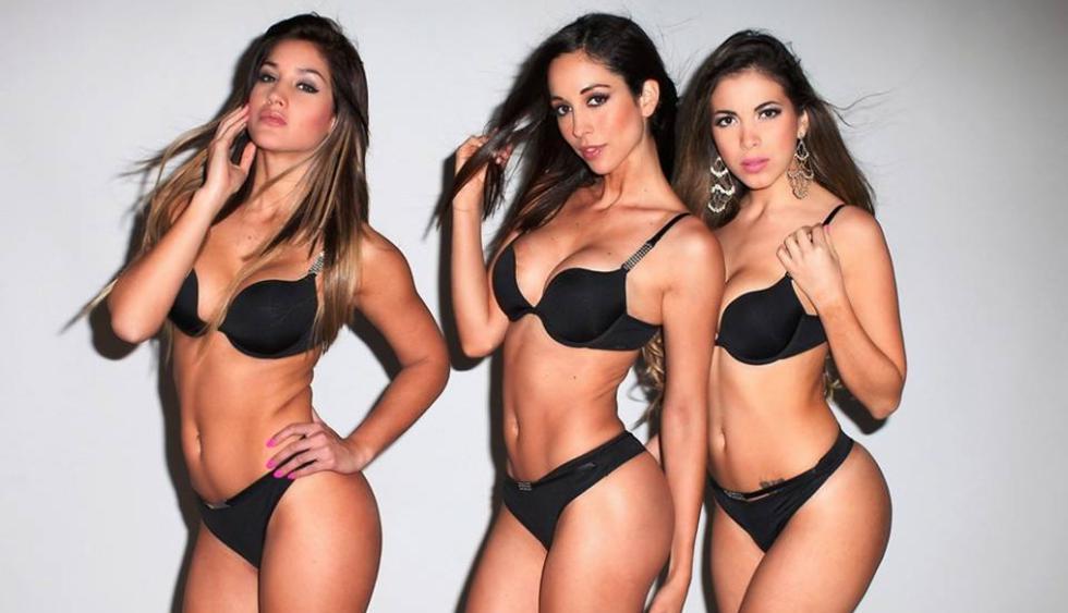 Olinda Castañeda, Mónica Rincón y Andrea Sifuentes son las modelos que integran este nuevo grupo. (Facebook)