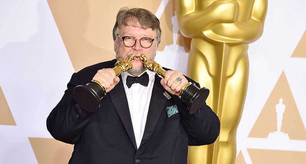 Guillermo del Toro ganó dos Oscar, como Mejor Director y Mejor Película. (Getty Images)