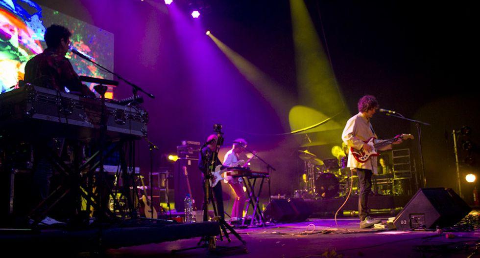MGMT deleitó a las 3 mil personas con lo mejor de su synth pop contemporáneo anoche en el Parque de la Exposición. (Jessica Alva/Perú21)