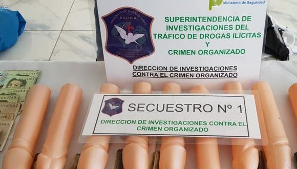 Al menos un millón de pesos recaudaba esta organización criminal. (Policía de Buenos Aires)