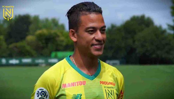 Cristian Benavente aún no ha sumado minutos en la Ligue 1. (Foto: Nantes FC)