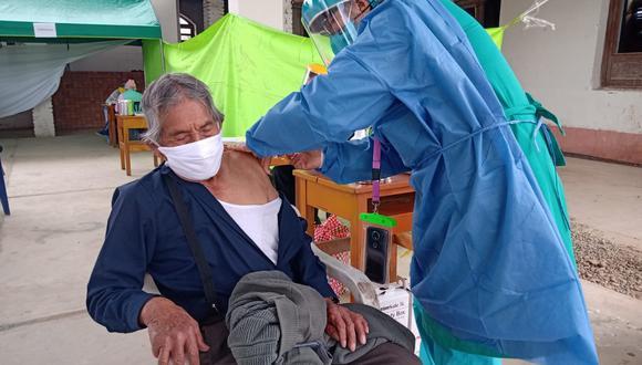 Junín: Diresa inmunizó a más de 46 mil adultos mayores contra el neumococo (Foto: Diresa Junín)