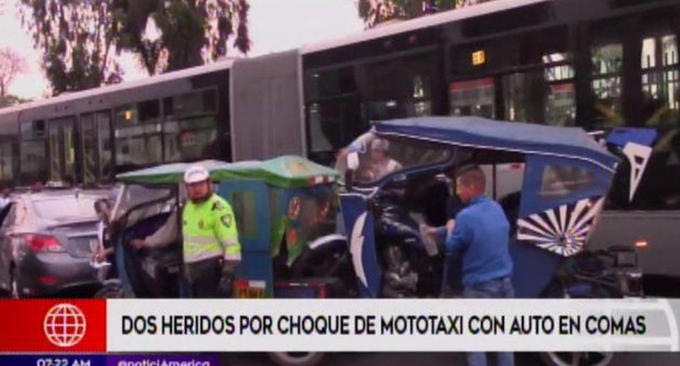 La comisaría de Santa Luzmila asumió las investigaciones. (Foto: Captura/América Noticias)
