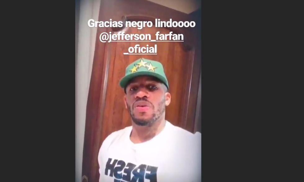 Guerrero, Pizarro, Gallese, Carrillo,Benavente, Yotún, Flores, Cueva, Advíncula, Farfán y Hurtado utilizaron sus cuentas de Instagram para saludar a Mario Hart. (@mariohart)