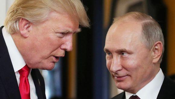 Donald Trump dice que se reunirá con Vladimir Putin en cumbre del G20 en Japón. (AFP)