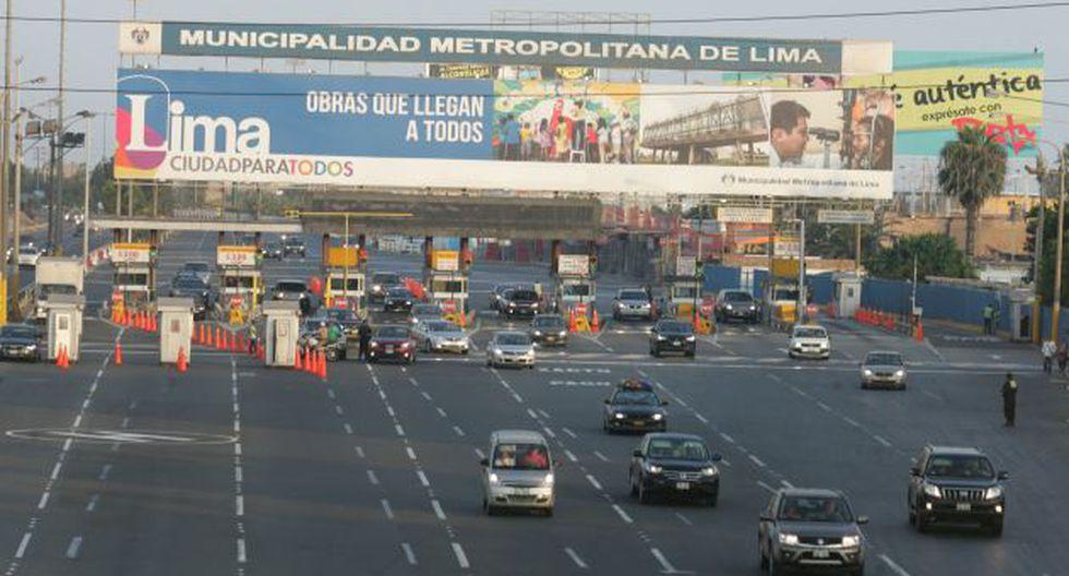El costo del proyecto Vías Nuevas de Lima será trasladado a los usuarios. (USI)