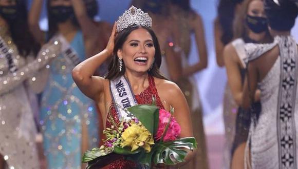 Andrea Meza se alzó con el título de belleza universal en el Miss Universo y una corona llena de diamantes. (Foto: @andreamezamx / Instagram)