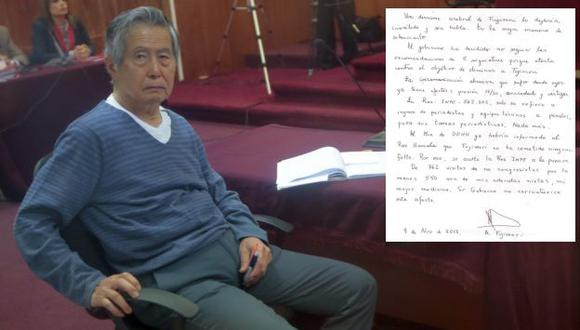 Fujimori se pronunció en su cuenta de Twitter. (César Fajardo)