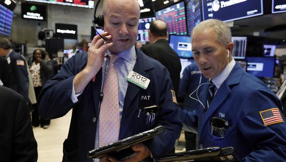 Wall Street sufrió dos desplomes consecutivos los días miércoles y jueves de esta semana. (Foto: AP)
