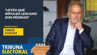 Jorge Chávez candidato al Congreso por Victoria Nacional