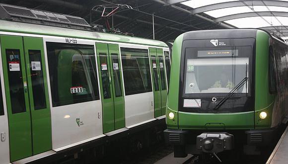 Metro de Lima lanza campaña Lima y sus Patas para que usuarios usen de manera óptima el servicio. (Renzo Salazar/Perú21)