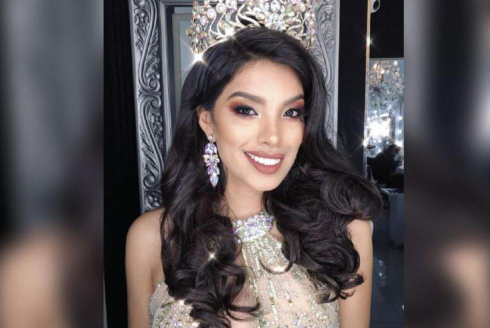 Anyella Grados ganó la corona del certamen de belleza. (@anyellapamela)