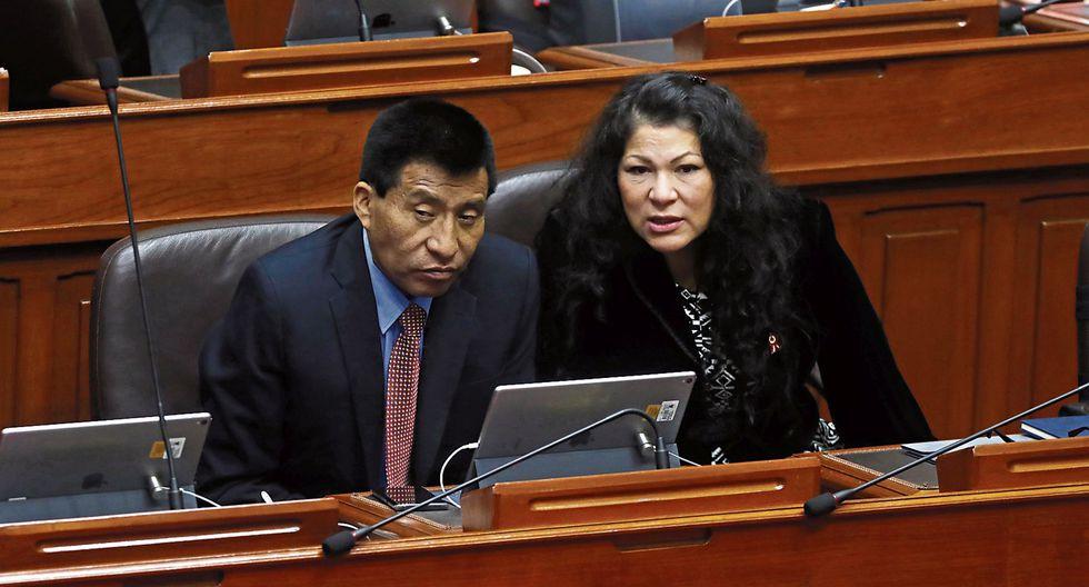 Caseritos de ética. Ambos parlamentarios ya fueron suspendidos anteriormente por 120 días. (ALESSANDRO CURRARINO)
