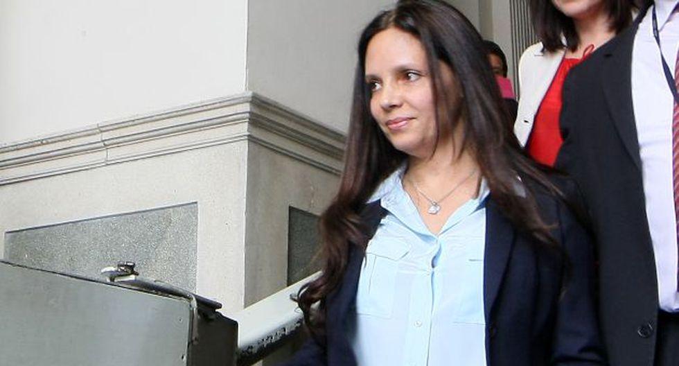 Ministra Mónica Rubio reiteró que Qali Warma está en revisión. (Nancy Dueñas)