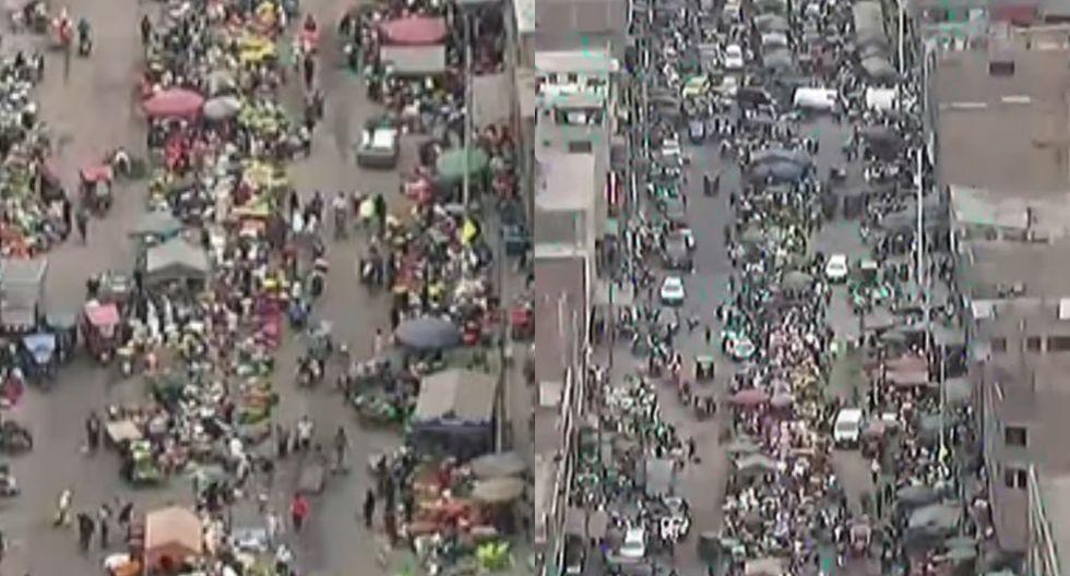 Comerciantes invaden calles de La Parada pese al estado de emergencia