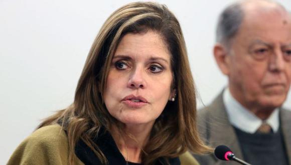 Mercedes Aráoz cuestiona la denuncia contra el fiscal de la Nación. (Geraldo Caso/Perú21)