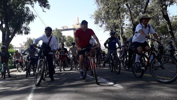 Buena noticia. Ciclistas tendrán espacio en la Ciudad Blanca.