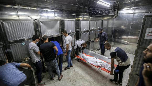 La muerte del palestino fue confirmada hoy por el Ministerio de Sanidad de la Autoridad Nacional Palestina. (Foto: Anas BABA / AFP)