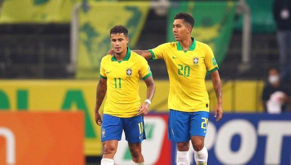 Philippe Coutinho reconoce su buen momento con la selección de Brasil.