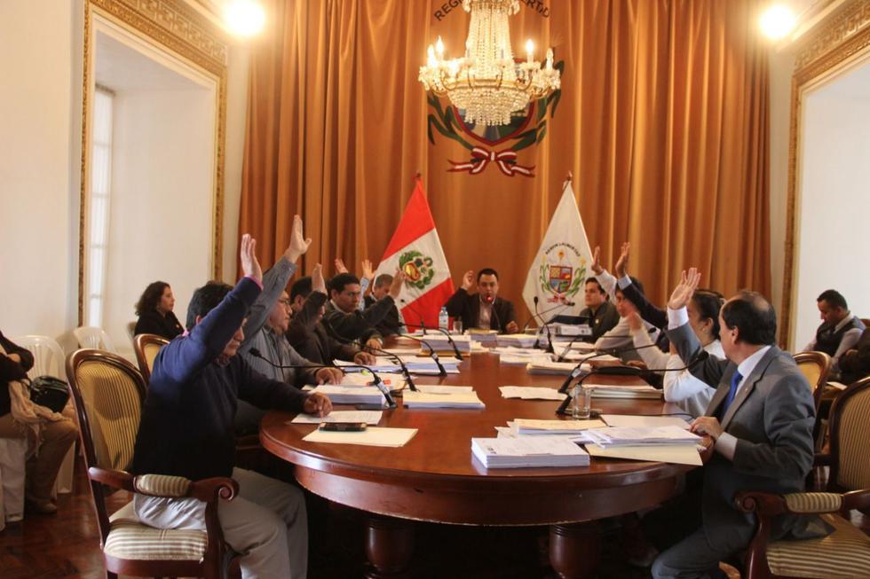 El pleno del Consejo Regional de La Libertad acordó solicitar al JNE que agilice la entrega de credenciales a los consejeros.