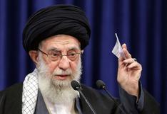 """Guía supremo de Irán dice que """"Israel no es un país sino una base terrorista"""""""