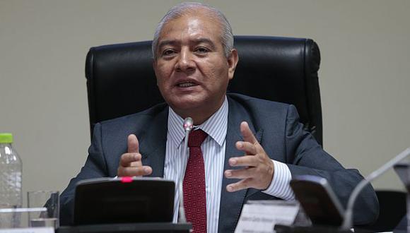 Wilfredo Pedraza criticó liberación de presuntos subversivos. (César Fajardo)